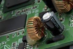 Placa de circuito impresa fotos de archivo