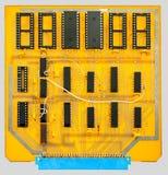 Placa de circuito impresa Fotos de archivo libres de regalías