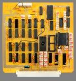 Placa de circuito impresa Fotografía de archivo