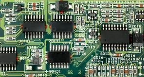 Placa de circuito impresa PWB Foto de archivo libre de regalías