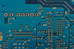 Placa de circuito impresa (PWB) Imagen de archivo libre de regalías
