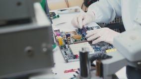 Placa de circuito impresa Soporte para los microprocesadores Primer: la placa madre almacen de video