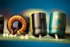 Placa de circuito impresso Foto de Stock