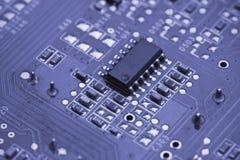 Placa de circuito impresso Foto de Stock Royalty Free