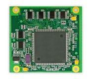 A placa de circuito impresso Imagens de Stock