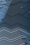 Placa de circuito impresso ilustração royalty free