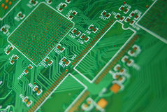 Placa de circuito impresso Fotografia de Stock Royalty Free