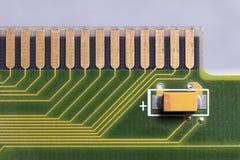 Placa de circuito Tecnologia de material informático eletrônica Motherbo imagens de stock