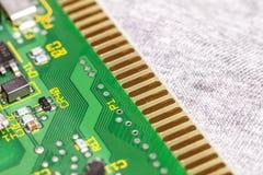 Placa de circuito Tecnologia de material informático eletrônica Motherbo fotos de stock royalty free