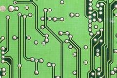 Placa de circuito Tecnologia de material informático eletrônica Motherbo fotografia de stock royalty free