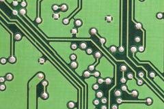 Placa de circuito Tecnologia de material informático eletrônica Motherbo imagens de stock royalty free