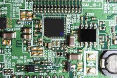 Placa de circuito, tevê do diodo emissor de luz detalhe do close up imagem de stock