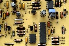 Placa de circuito velha Foto de Stock