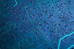 Placa de circuito verde impressa do computador Imagens de Stock