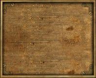 Placa de cobre amarillo del fondo de Grunge Foto de archivo