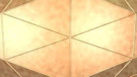 Placa de cobre del fondo del metal Ilustración del Vector
