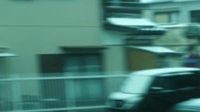 Placa de conducción en Japón rural almacen de metraje de vídeo