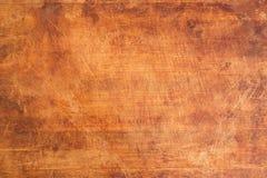 Placa de corte de madeira riscada vintage Fotografia de Stock
