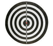Placa de dardos Imagens de Stock