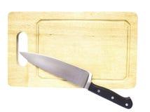 Placa de desbastamento de madeira Fotografia de Stock Royalty Free