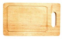 Placa de desbastamento de madeira Foto de Stock Royalty Free