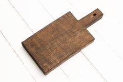 Placa de desbastamento de madeira Imagens de Stock Royalty Free