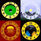 Placa de dial stock de ilustración