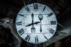Placa de dial numerada con la bifurcación libre illustration