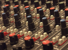 Placa de edição video Imagens de Stock