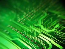 Placa de eletrônica Fotografia de Stock
