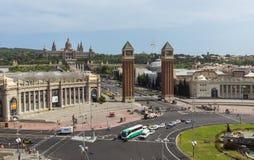 Placa de Espana - τοπ άποψη Στοκ εικόνα με δικαίωμα ελεύθερης χρήσης