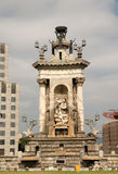 Placa de Espana, Barcelona Spain Stock Photography