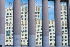 Placa de Espana in Barcelona, Spanien Stockfotografie