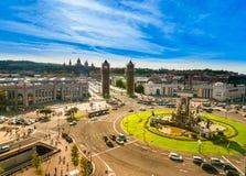 Placa de espanya, Βαρκελώνη. Ισπανία Στοκ Φωτογραφίες