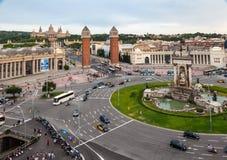 Placa de Espanya Βαρκελώνη Στοκ φωτογραφία με δικαίωμα ελεύθερης χρήσης
