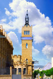 Placa de Espanya , Barcelona . Spain. Tower on Placa de Espanya , Barcelona . Spain royalty free stock photo
