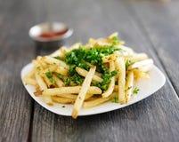 Placa de fritadas da trufa Imagens de Stock Royalty Free