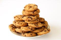 Placa de galletas Fotografía de archivo libre de regalías