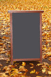 Placa de giz Fotografia de Stock