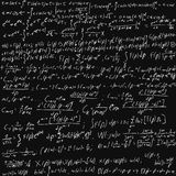 Placa de giz das matemáticas Fotografia de Stock