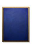 Placa de giz e frame em branco da madeira Imagem de Stock