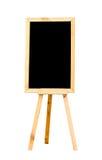 Placa de giz vazia. fotos de stock royalty free