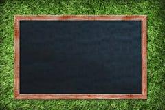 Placa de giz vazia imagem de stock