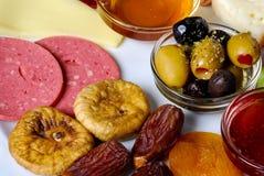 Placa de Iftar Imagens de Stock