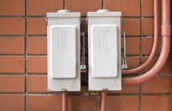 Placa de interruptor Foto de Stock Royalty Free