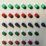 Placa de interruptores Fotografia de Stock Royalty Free