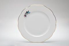 Placa de jantar vazia Hand-painted Imagem de Stock Royalty Free