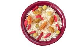 Placa de la comida Imagen de archivo