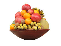 Placa de la fruta Foto de archivo