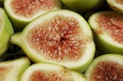 Placa de la fruta del higo Imagen de archivo